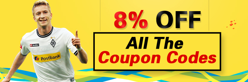 You will get cheap 8% off by using a coupons code 'Ufifa'